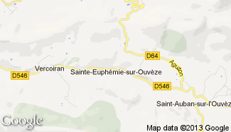 Plan de Sainte-Euphémie-sur-Ouvèze