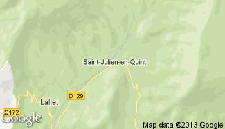 Plan de Saint-Julien-en-Quint