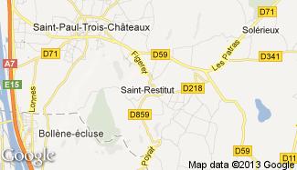 Plan de Saint-Restitut