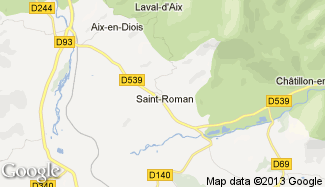 Plan de Saint-Roman