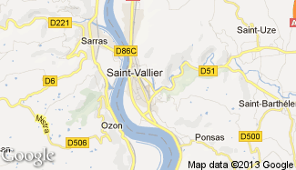 Plan de Saint-Vallier