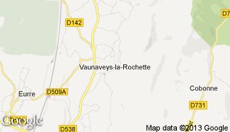 Plan de Vaunaveys-la-Rochette