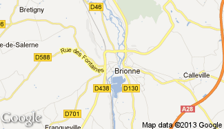 Plan de Brionne