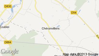 Plan de Chéronvilliers