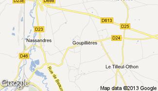 Plan de Goupillières