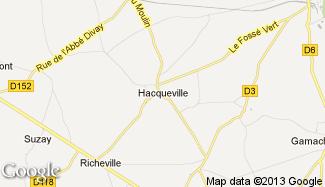 Plan de Hacqueville