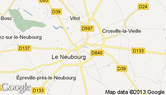 Plan de Le Neubourg