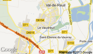 Plan de Val-de-Reuil