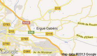 Plan de Ergué-Gabéric