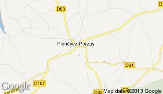 Plan de Plonévez-Porzay