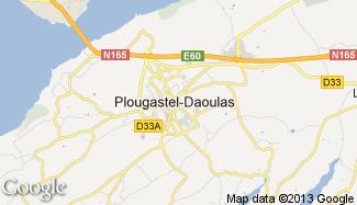 Plan de Plougastel-Daoulas