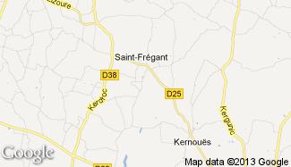 Plan de Saint-Frégant