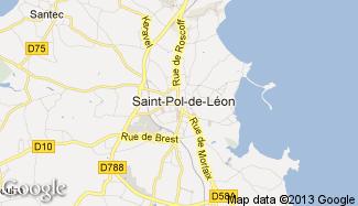 Plan de Saint-Pol-de-Léon