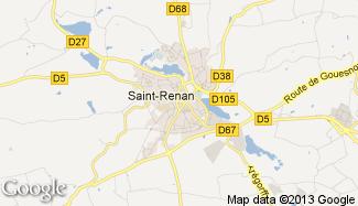 Plan de Saint-Renan