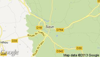 Plan de Sizun