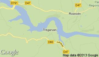 Plan de Trégarvan