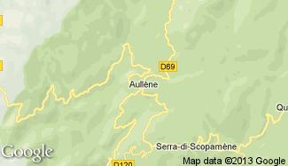 Plan de Aullène