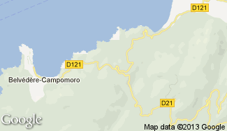 Plan de Belvédère-Campomoro