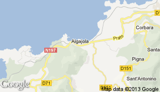 Plan de Algajola