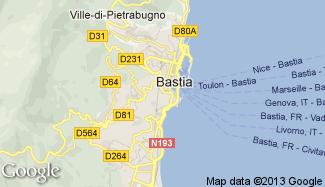 Plan de Bastia