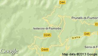 Plan de Isolaccio-di-Fiumorbo