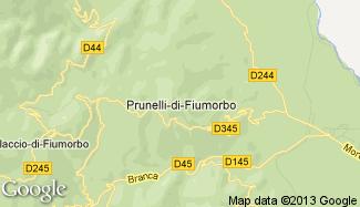 Plan de Prunelli-di-Fiumorbo