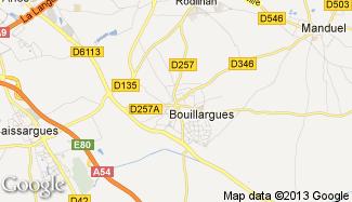 Plan de Bouillargues