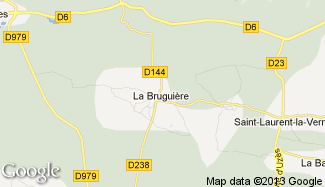 Plan de La Bruguière