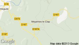 Plan de Méjannes-le-Clap