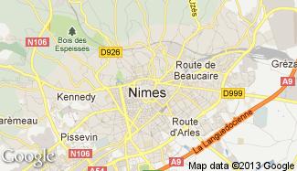 Plan de Nîmes