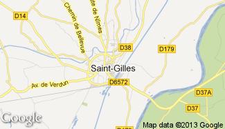 Plan de Saint-Gilles