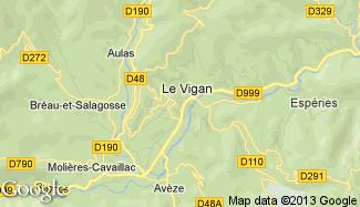 Plan de Le Vigan