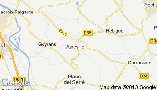 Plan de Aureville