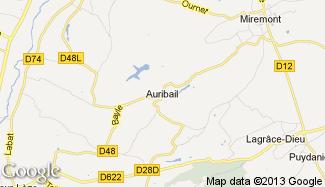 Plan de Auribail