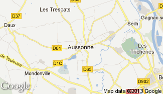 Plan de Aussonne