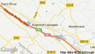 Plan de Avignonet-Lauragais