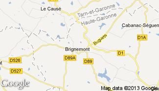 Plan de Brignemont