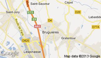 Plan de Bruguières