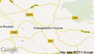 Plan de Cassagnabère-Tournas