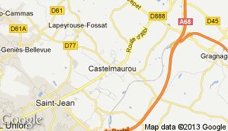 Plan de Castelmaurou