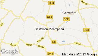 Plan de Castelnau-Picampeau