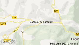 Plan de Cazeaux-de-Larboust