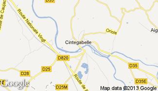 Plan de Cintegabelle