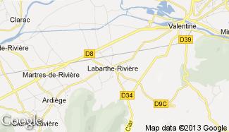 Plan de Labarthe-Rivière