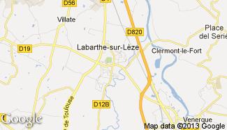 Plan de Labarthe-sur-Lèze
