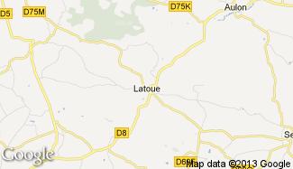 Plan de Latoue