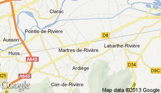 Plan de Martres-de-Rivière