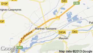 Plan de Martres-Tolosane