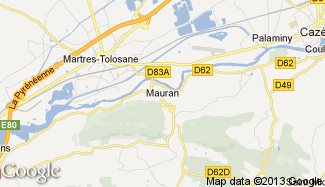 Plan de Mauran