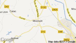 Plan de Miremont